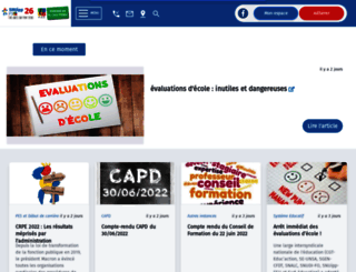 26.snuipp.fr screenshot