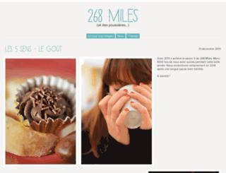 268miles.com screenshot