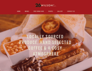 26wilsonstreet.co.uk screenshot