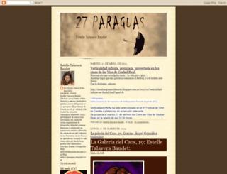 27paraguas.blogspot.com screenshot