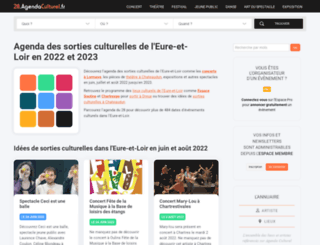 28.agendaculturel.fr screenshot