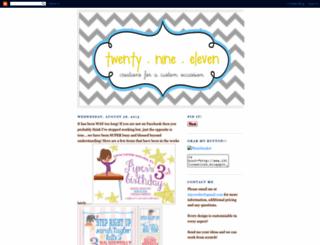 2911creations.blogspot.ca screenshot