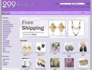 299jewelry.com screenshot