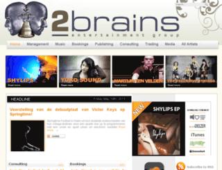 2brainsentertainment.be screenshot