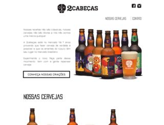 2cabecas.com.br screenshot