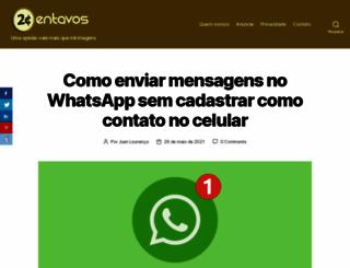 2centavos.com.br screenshot