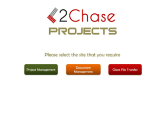 2chaseprojects.co.uk screenshot