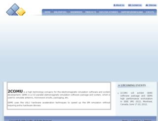 2comu.com screenshot