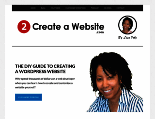 2createawebsite.com screenshot