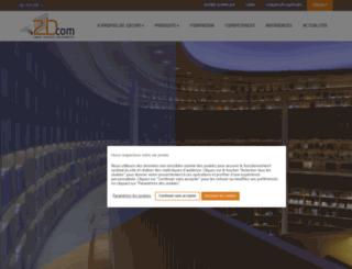2dcom.fr screenshot