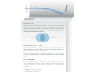 2deluxe.nl screenshot