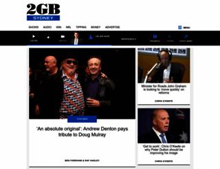 2gb.com.au screenshot