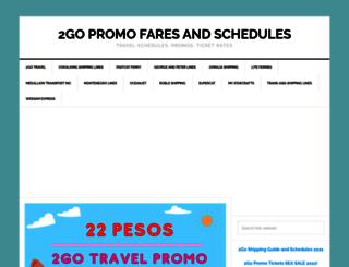 2gopromo.com screenshot