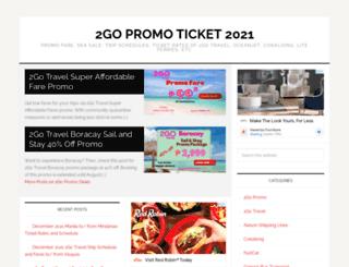 2gopromoticket.com screenshot