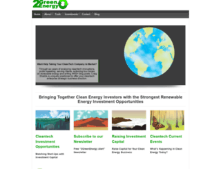 2greenenergy.com screenshot