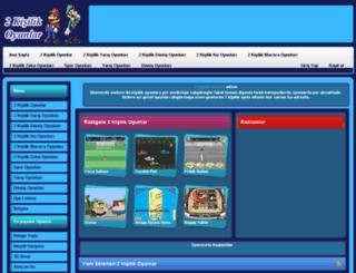2kisilikoyunlar.org screenshot
