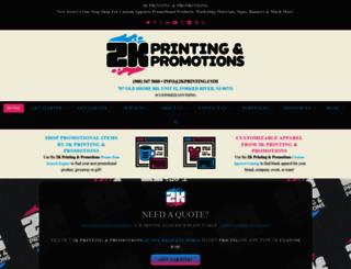 2kprinting.com screenshot