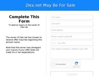 2lex.net screenshot