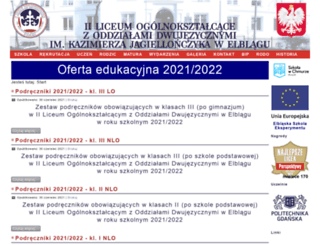 2lo.elblag.pl screenshot