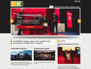 2mstudio.cz screenshot
