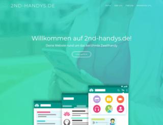 2nd-handys.de screenshot