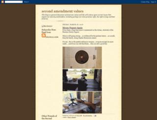 2ndammendmentvalues.blogspot.com screenshot