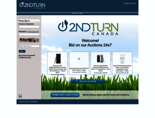 2ndturn.dtdeals.com screenshot