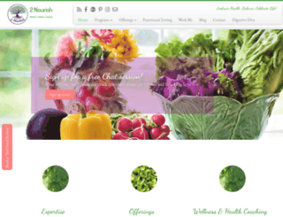 2nourish.com screenshot