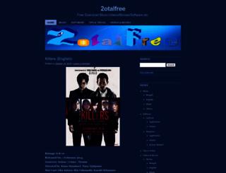 2otalfree.wordpress.com screenshot