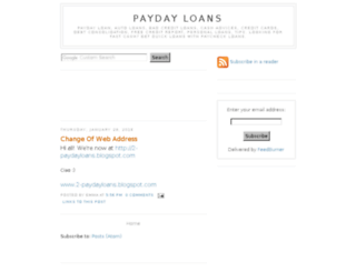 2payday-loans.blogspot.com screenshot
