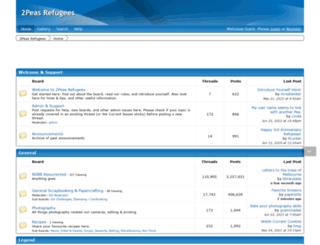 2peasrefugees.boards.net screenshot