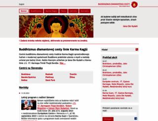 2percenta.buddhizmus.sk screenshot