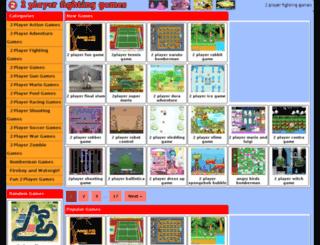 2playerfightinggames.org screenshot