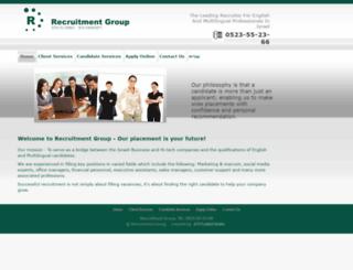 2recruitment.com screenshot