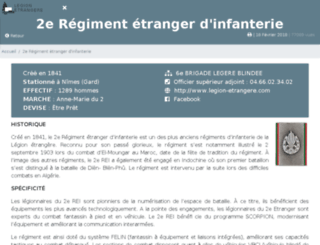 2rei.legion-etrangere.com screenshot