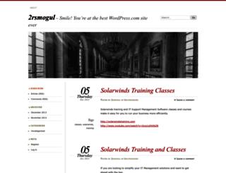 2rsmogul.wordpress.com screenshot