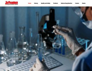 2spharma.com screenshot
