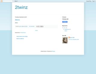 2twinz.blogspot.com screenshot