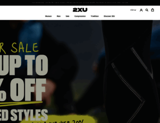 2xu.com screenshot