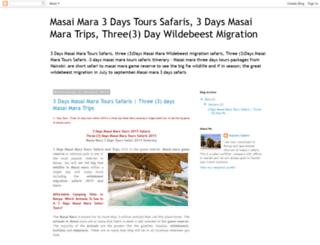 3-days-masai-mara-tours-safaris.blogspot.com screenshot