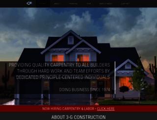 3-gconstruction.com screenshot