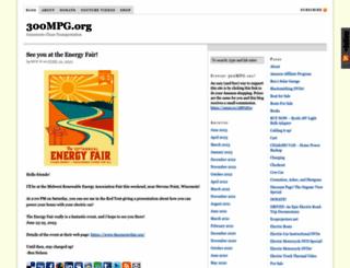 300mpg.org screenshot
