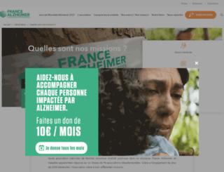 30ans.francealzheimer.org screenshot