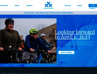 30daysofbiking.com screenshot