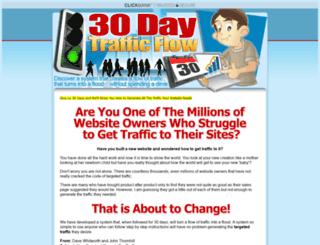 30daytrafficflow.com screenshot