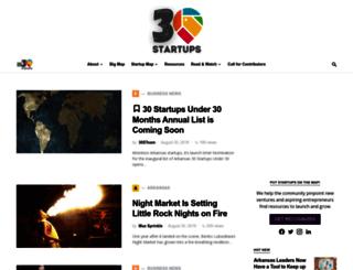 30startups.com screenshot