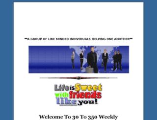 30to350weekly.com screenshot