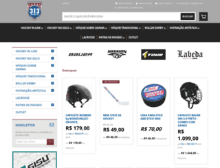 313sports.com.br screenshot