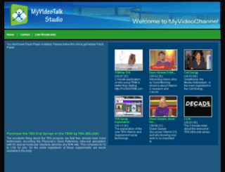 317486.myvideotalkstudio.com screenshot