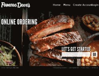 3204.famousdaves.com screenshot